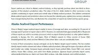Alaska Seafood Export Market Analysis