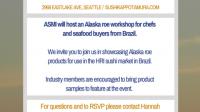 Save the Date: Alaska Roe Workshop