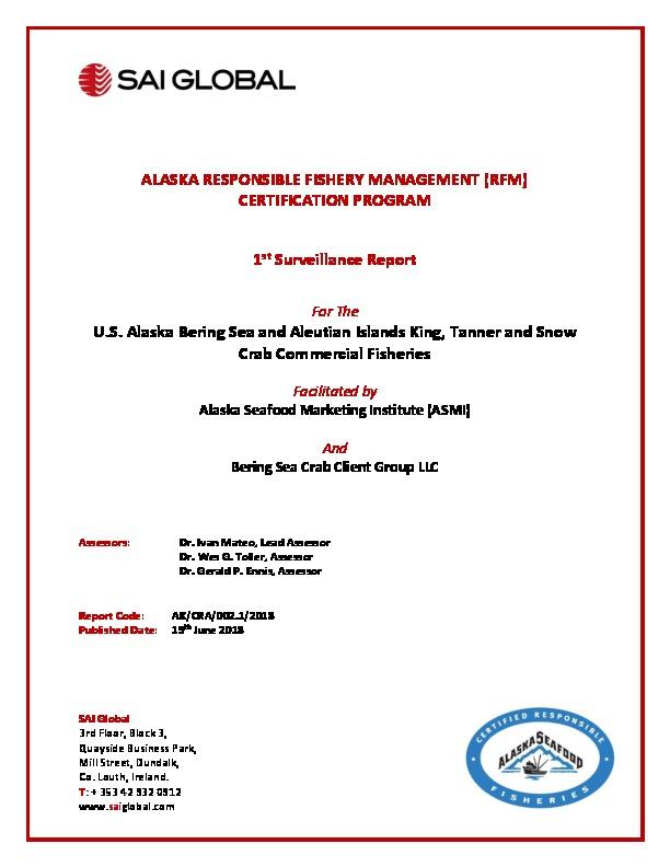 Sustainability - Alaska Seafood