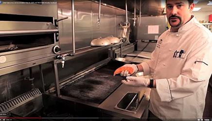 Chef Dan Enos grills and boils Alaska seafood