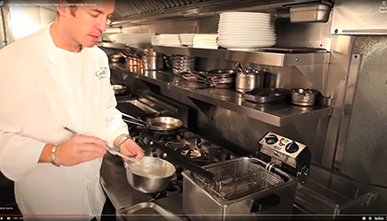 Chef Jason Wilson teaches how to deep and pan fry Alaska seafood